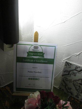 Pieter Pourbus : TripAdvisor sign
