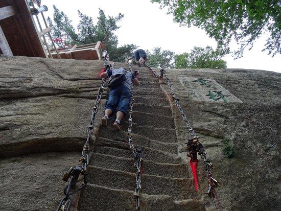 Mount Huashan: Лестница в небо