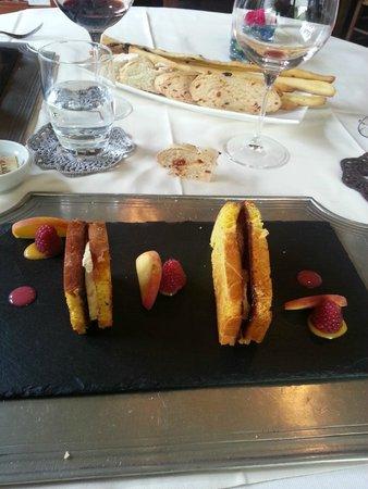 Maresco: brioche au foie gras chaud