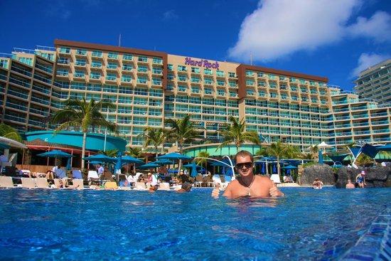 Hard Rock Hotel Cancun : Главное и единственное здание