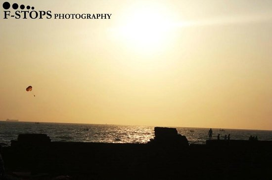 Fort Aguada: The sunset!