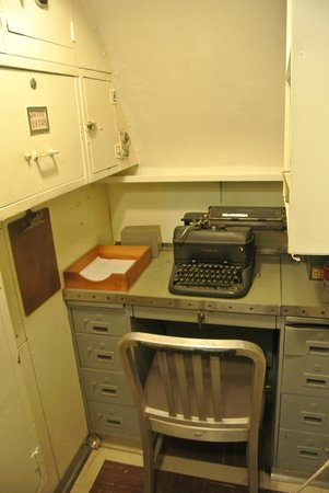 USS Bowfin Submarine Museum & Park : Office!