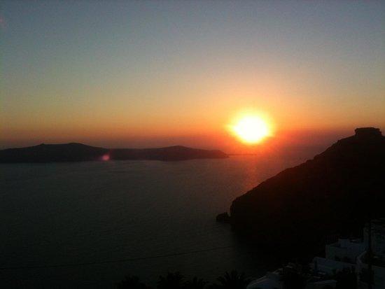 Anatoli Hotel: Santorini sunset
