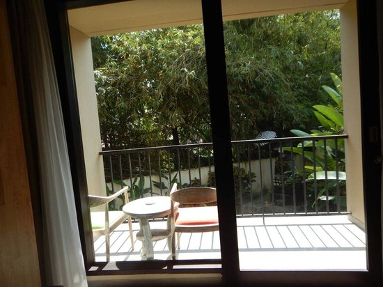 Pandawa All Suite Hotel: Terrace in the outside