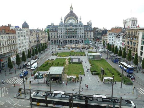 Radisson Blu Astrid Hotel, Antwerp : 部屋からの眺めが最高