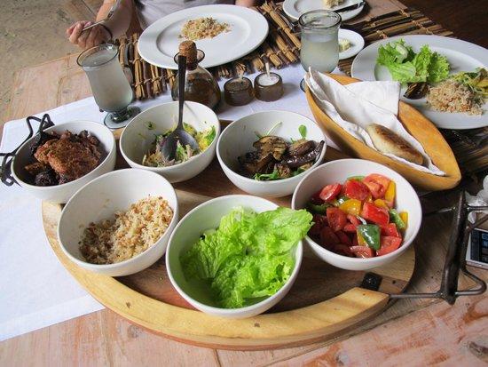 andBeyond Lake Manyara Tree Lodge: Our lunch!