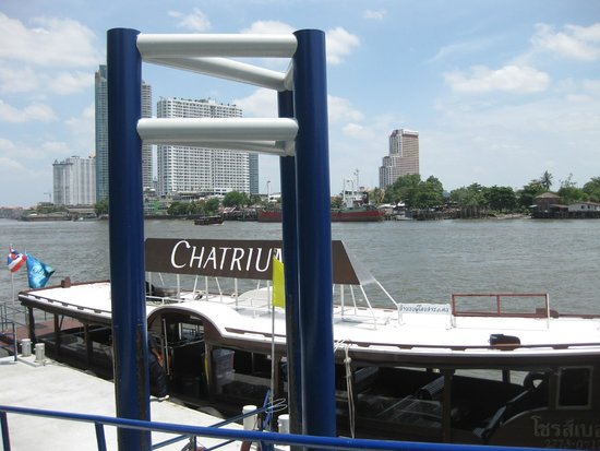 Chatrium Hotel Riverside Bangkok: Water taxi