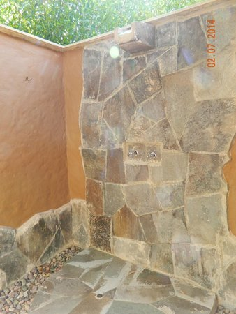 Casa Andina Private Collection Valle Sagrado: Outside Shower - for the warm summer days