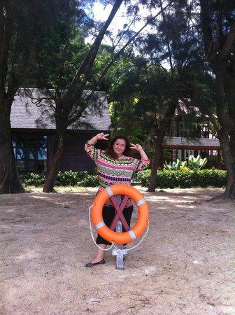 Manukan Island: Beach view