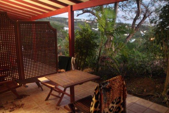 Le Rayon Vert : Terrasse