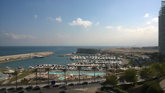 Phoenicia Hotel : View from the Hotel room