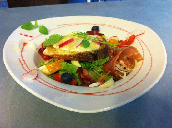 Le Feu ô Plumes : Salade repas du moment