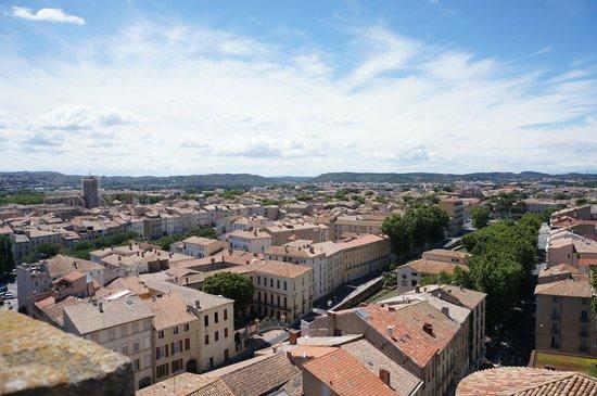 Donjon Gilles Aycelin : panorama-1 city street