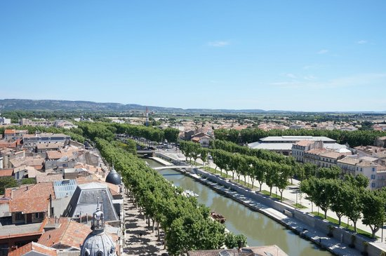 Donjon Gilles Aycelin : panorama-2 river