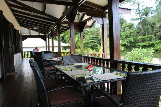 VERANDA Cafe: veranda del ristorante