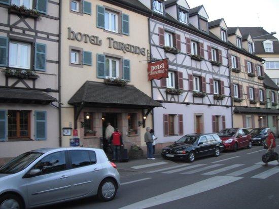 Hotel Turenne : Front of Turenne