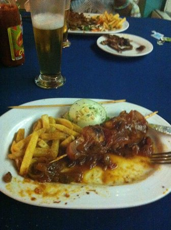 The Pirates Arms: Kebab di Pesce