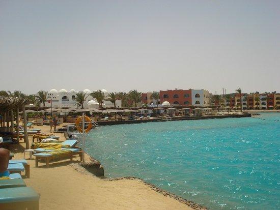 Arabella Azur Resort: Strandbereich