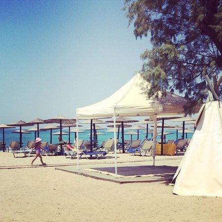Grecotel Creta Palace Hotel : Beach 2