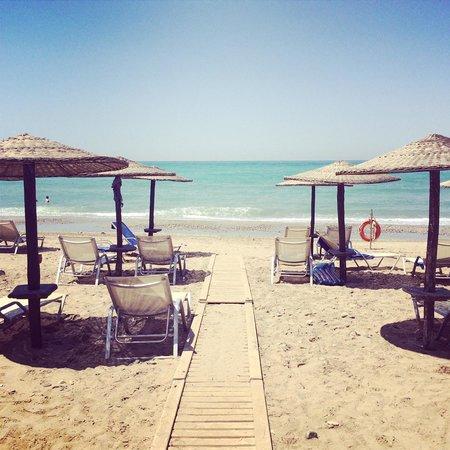 Grecotel Creta Palace Hotel : Beach 3