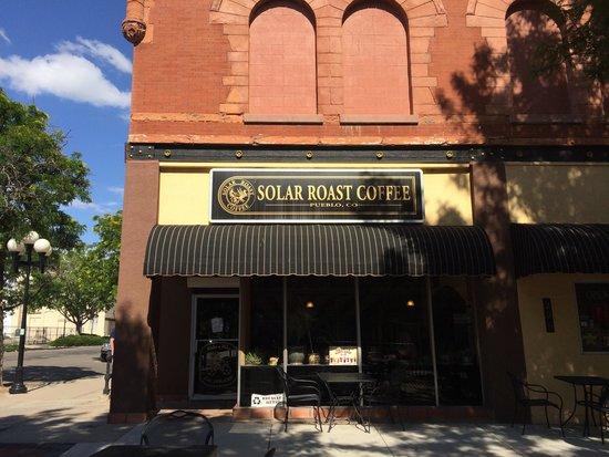 Solar Roast Coffee: Afternoon Shade