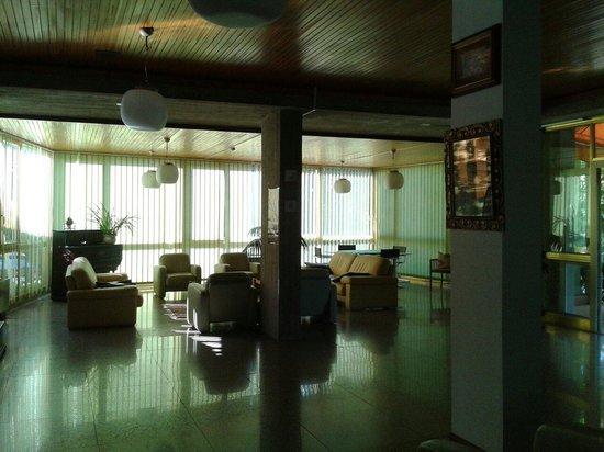 Hotel Brasilia: Area comune all'ingresso