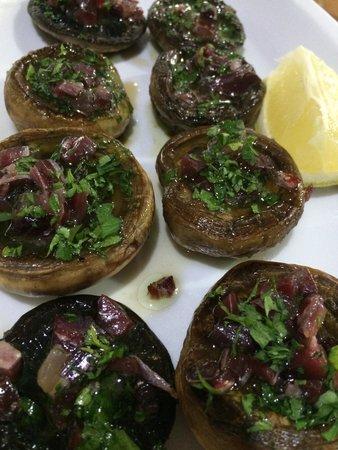 Restaurante La Tasca: Champiñones con jamón