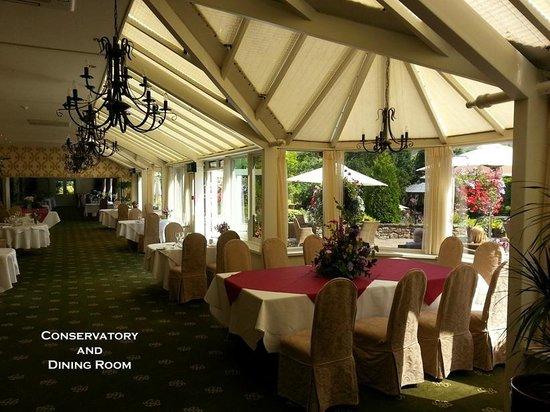 Gibbon Bridge Hotel : Conservatory