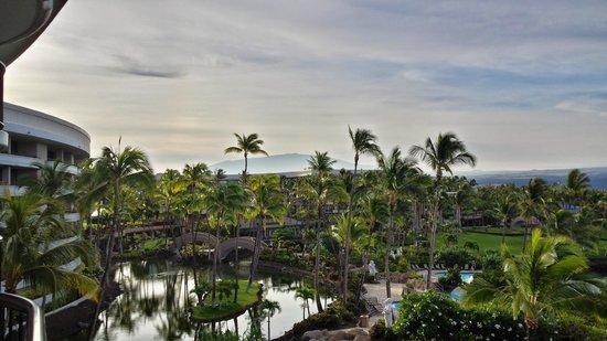 Hilton Waikoloa Village: View of Mauna Kea from Ocean Tower
