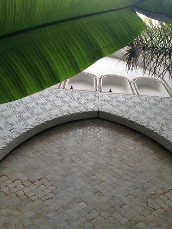 Riad Palau: water fountain