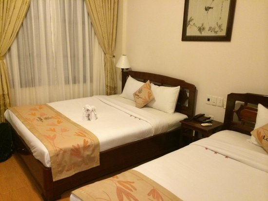 Lotus Hoi An Boutique Hotel & Spa : habitación