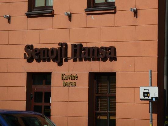 Senoji Hansa Bar: senoji hansa