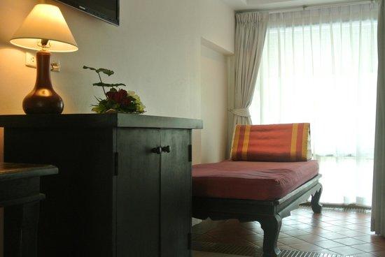 Chanalai Flora Resort: Deluxe room pool view