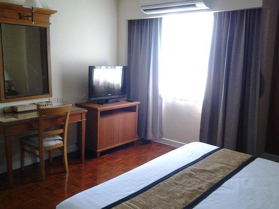 Kantary Bay, Rayong: ในห้องนอนมีโทรทัศน์จอแบน ขนาดกำลังดี