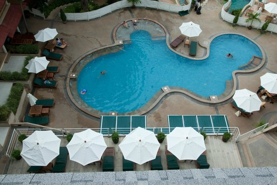 Chanalai Flora Resort : View from the Super Deluxe room