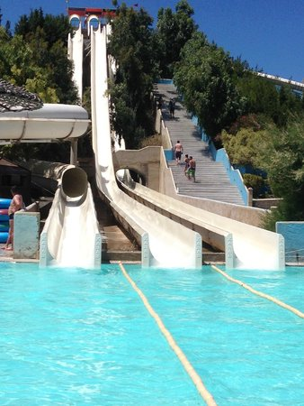 WaterPark: The biggest slides in the park