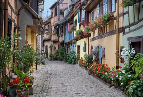 Eguisheim, Fransa: Rue du Rempart Sud