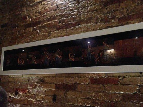 Ristorante Rosa Rossa : Sequenza foto di Johnny Depp in serata al ristorante