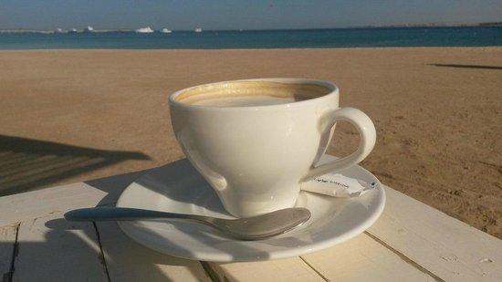Premier Romance Boutique Hotel and Spa: The Red sea cappuccino