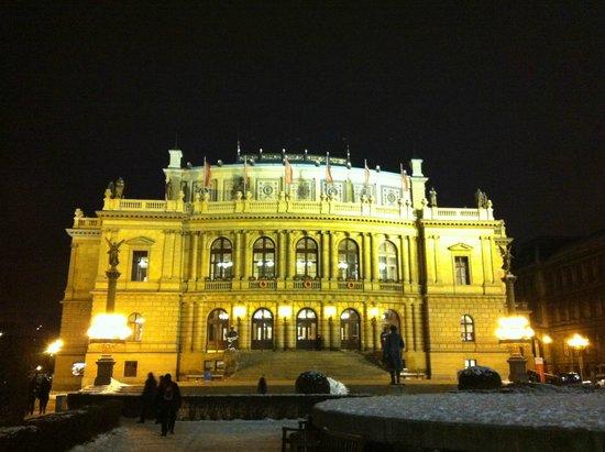 Rudolfinum at Night