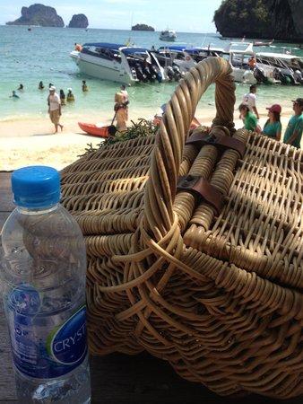 Rayavadee Resort : ビーチ