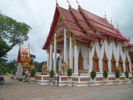 Wat Chalong : ถวายสังฆทาน