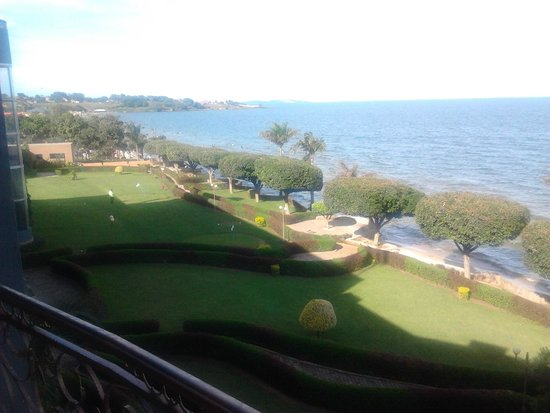 Protea Hotel by Marriott Entebbe: view from the balcony