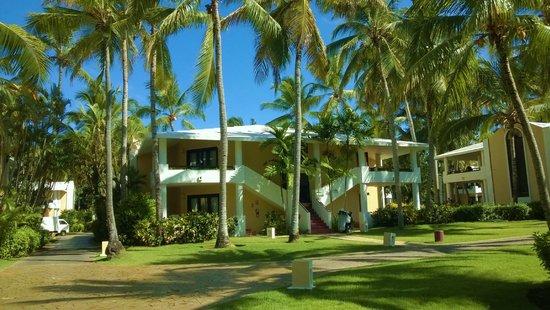 Bavaro Princess All Suites Resort, Spa & Casino: hôtel : entité de 8 chambres avec jacuzzi