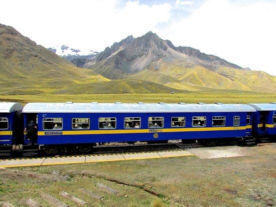 PeruRail - Titicaca: En route from Puno to Cusco