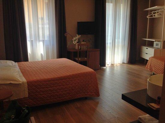 Orcagna Hotel : panoramica camera