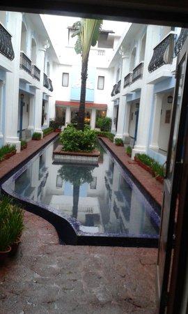 Lemon Tree Amarante Beach Resort, Goa: from the back door....