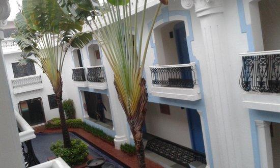 Lemon Tree Amarante Beach Resort, Goa: click from the corridor of our room...