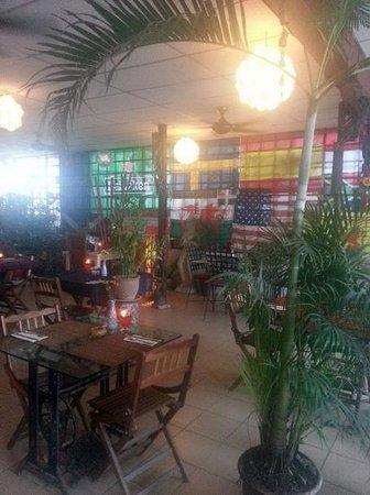 Champor-Champor Restaurant & Bar: Wall of flags