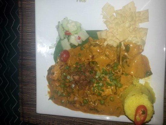 Champor-Champor Restaurant & Bar : Umas famour chicken